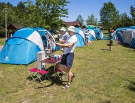 2 dniowy biwak pod namiotem dla rodzin z dziećmi